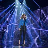 "Miriam interpreta ""Invisible"" en la Gala Final de 'OT 2017'"