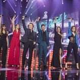 Raphael canta con los finalistas de 'OT 2017'