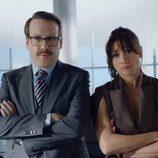 Joaquín Reyes y María Botto en 'Cuerpo de élite'