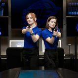 Cristina Castaño y Adriana Torrebejano en 'Cuerpo de élite'