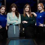 Adriana Torrebejano, María Botto, Ana Morgade y Cristina Castaño en 'Cuerpo de élite'