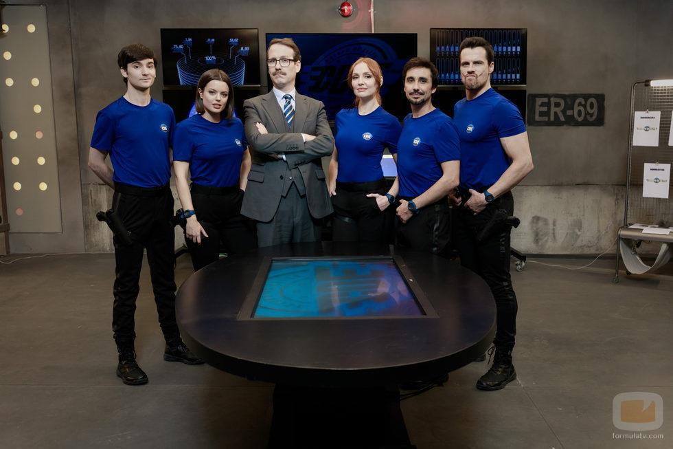El equipo de 'Cuerpo de élite' en una foto promocional