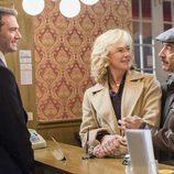 Mercedes y Antonio en Londres en el capítulo de la temporada 19 de 'Cuéntame cómo pasó'