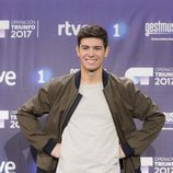 Alfred posa feliz como cuarto finalista de 'OT 2017'