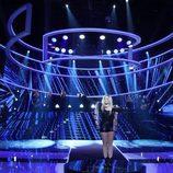 Lucía Jiménez imita a Ellie Goulding en la gala 17 de 'Tu cara me suena'