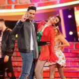 David Amor y Adriana Abenia imitan a Luis Fonsi y Demi Lovato en la gala 17 de 'Tu cara me suena'
