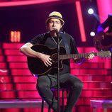 Raúl Pérez como Joaquín Sabina en la gala 17 de 'Tu cara me suena'