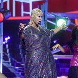 Miquel Fernández imita a Sylvester en la gala 17 de 'Tu cara me suena'