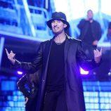 Fran Dieli interpreta a Justin Timberlake en la gala 17 de 'Tu cara me suena'