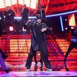 Fran Dieli canta como Justin Timberlake en la gala 17 de 'Tu cara me suena'