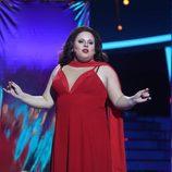 Brays Efe imita a Paloma San Basilio en la gala 17 de 'Tu cara me suena'