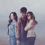 Elena Rivera, Jon Kortajarena y Esmeralda Moya en 'La verdad'