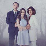 Elena Rivera, Ginés García Millán y Lydia Bosch en 'La verdad'