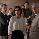 Los protagonistas de 'La verdad' celebran una fiesta por la vuelta de Paula en el primer capítulo