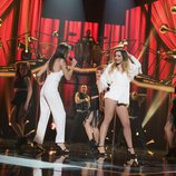 "Ana Guerra y Mimi cantan ""Don't you worry about the thing"" en la Gala Fiesta de 'OT 2017'"
