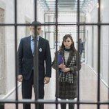 Karina comienza a trabajar como profesora en la cárcel en 'Cuéntame cómo pasó'