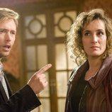 Cristina Alcázar y Pablo Rivero, en el segundo capítulo de la 19ª temporada de 'Cuéntame cómo pasó'