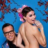 María Lapiedra, desnuda, para la portada de la revista Primera Línea