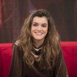 Amaia, la ganadora de 'OT 2017', en el sofá de 'La mañana' de La 1