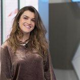 Amaia Romero posa en el plató de 'La mañana' de La 1