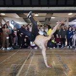 Un bailarín haciendo piruetas en los castings de 'Fama a bailar 2018'