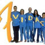 Protagonistas de la primera temporada de '7 vidas'