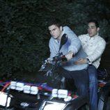 Cabano conduce el quad en el que Isaac se mata en 'Física o química'