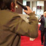 Javier Cámara intenta detener un suicidio en 'Lex'