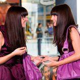 Alejandra Lorente y Sabrina Praga en 'Mi gemela es hija única'