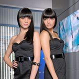 Alejandra Lorente y Sabrina Praga