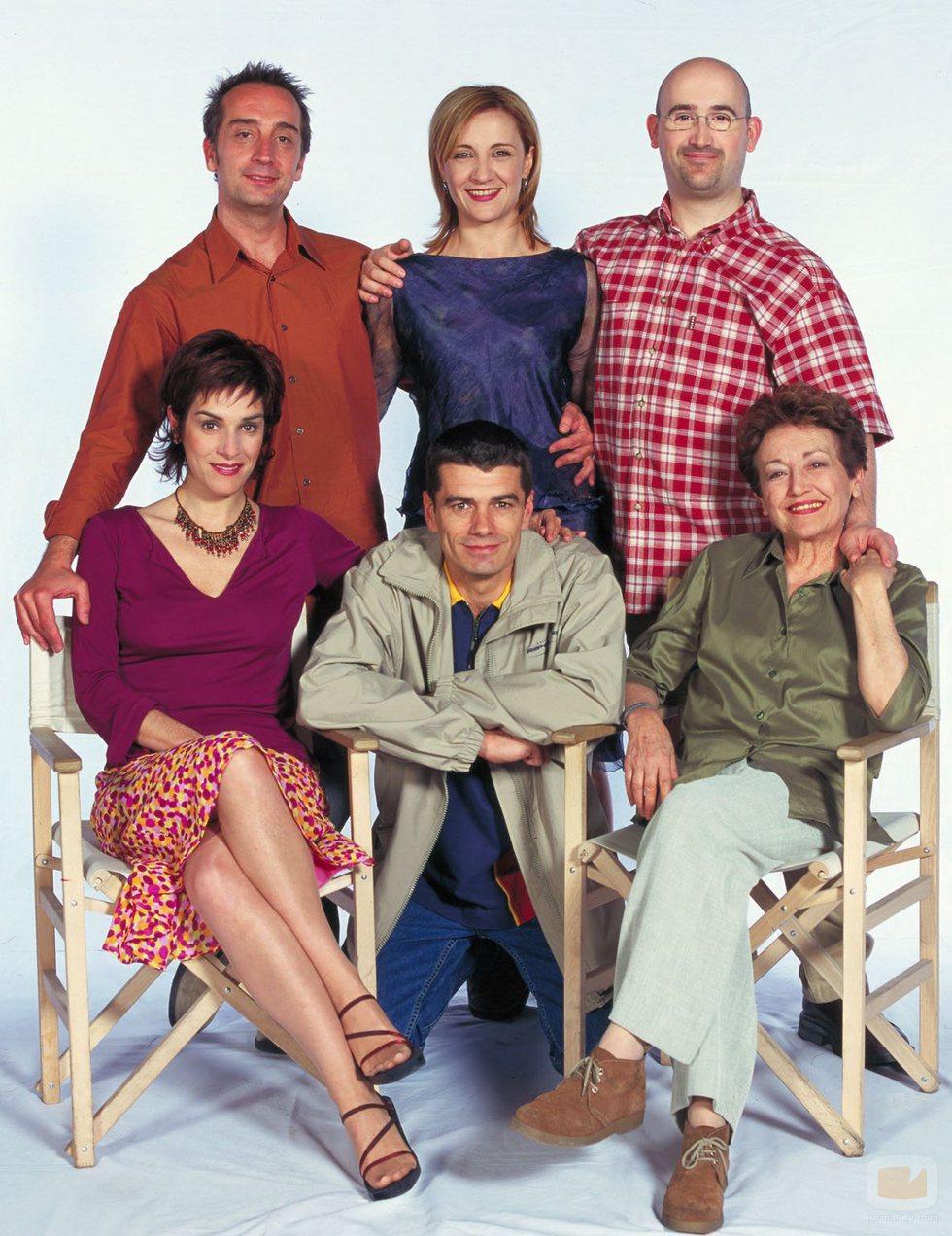Los protagonistas de la segunda temporada de '7 vidas'