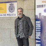 Adrià Collado en la presentación de la segunda temporada de 'Servir y proteger'