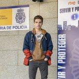 Albert Baró en la presentación de la segunda temporada de 'Servir y proteger'