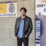 Ángel de Miguel en la presentación de la segunda temporada de 'Servir y proteger'