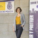 Celia Freijeiro en la presentación de la segunda temporada de 'Servir y proteger'