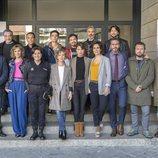 El elenco de 'Servir y proteger' en la presentación de la segunda temporada