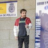 Jimmy Barnatán en la presentación de la segunda temporada de 'Servir y proteger'