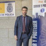 Raúl Olivo en la presentación de la segunda temporada de 'Servir y proteger'