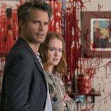 Timothy Olyphant y Liv Hewson en la segunda temporada de 'Santa Clarita Diet'