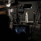 """Alfred y Amaia en pleno rodaje del videoclip de """"Tu canción"""""""