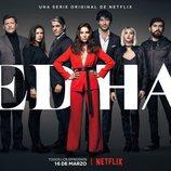 Los protagonistas de 'Edha', la primera serie original de Netflix Argentina
