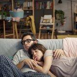 Sandra duerme abrazada a Berto en 'Mira lo que has hecho'