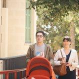 Berto y Sandra pasean a Lucas en 'Mira lo que has hecho