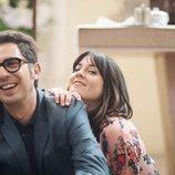 Berto y Sandra sonríen en uno de los capítulos de 'Mira lo que has hecho'