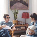 Berto, Sandra y su hijo en 'Mira lo que has hecho'