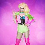 Dusty Ray Bottoms, la Drag Queen de Nueva York, en la décima temporada de 'RuPaul's Drag Race'