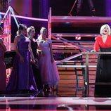 Lucía Gil es Sam Brown en la gala 19 de 'Tu cara me suena'