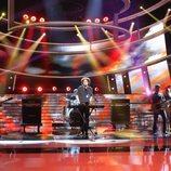 Raúl Pérez imita a Andrés Calamaro en la gala 19 de 'Tu cara me suena'