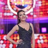 Anna Simon es Ana Guerra en el plató de 'Tu cara me suena'