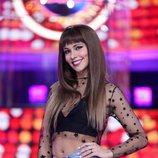 Cristina Pedroche es Aitana en el plató de 'Tu cara me suena'